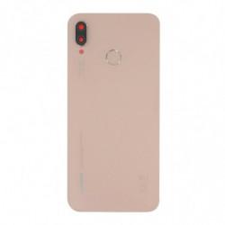 Vitre arriere Huawei P20 Lite rose