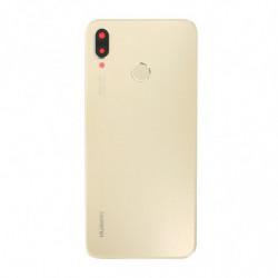 Vitre arriere pour Huawei P20 Lite or