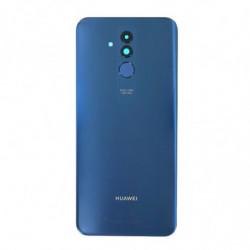 Vitre arriere Huawei Mate 20 Lite bleu