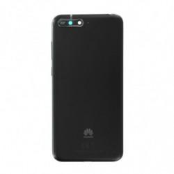 Huawei vitre arriere Y6 2018 noir