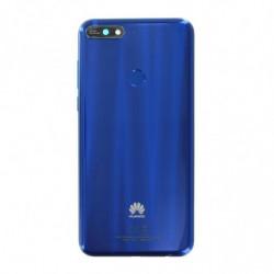 Huawei vitre arriere Y7 2018 bleu