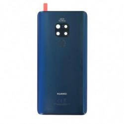 Vitre arriere Huawei Mate 20 bleu