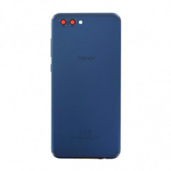 Vitre arriere Huawei Honor View 10 bleu marine