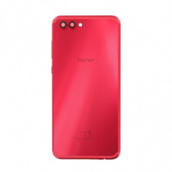 Vitre arriere Huawei Honor View 10 rouge