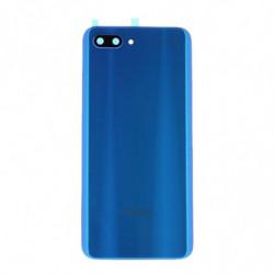 Vitre arriere Huawei Honor 10 bleu fantôme