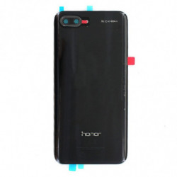 Vitre arriere Huawei Honor 10 Noir Minuit