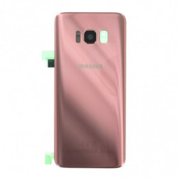 Samsung Galaxy S8 Vitre arriere rose