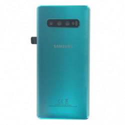 Samsung vitre arriere Galaxy S10 Plus vert