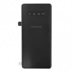 Samsung vitre arriere Galaxy S10 Plus prisme noir