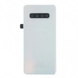 Vitre arriere Samsung Galaxy S10 Plus prisme blanc