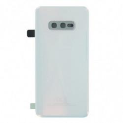 Vitre arriere Samsung Galaxy S10e blanc