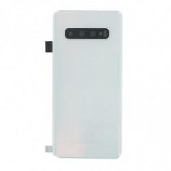 Vitre arriere Samsung Galaxy S10 blanc
