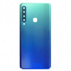 Vitre arriere Samsung Galaxy A9 (2018) Bleu