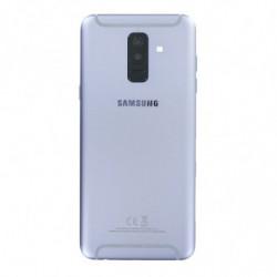 Vitre arriere Pour Samsung Galaxy A6 Plus (2018) Duos Violet