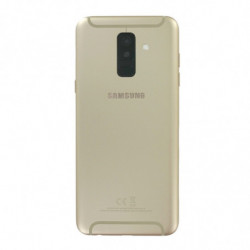 Vitre arriere Samsung Galaxy A6 Plus (2018) Duos Or