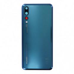 Vitre arriere pour Huawei P20 Pro Bleu nuit