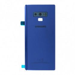 Samsung Galaxy Note 9 Vitre arriere bleu