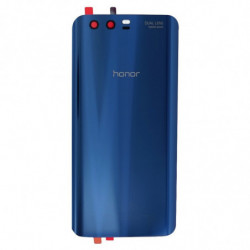 Vitre arriere Huawei Honor 9 bleu