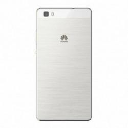 Vitre arriere pour Huawei P8 Lite blanc