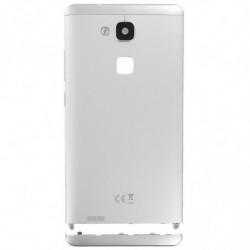 Vitre arriere pour Huawei Mate 7 blanc