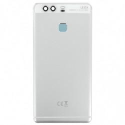 Vitre arriere pour Huawei P9 blanc