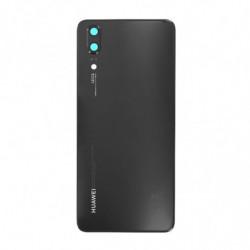 Vitre arriere Huawei P20 noir
