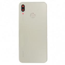 Vitre arriere pour Huawei P20 Lite + Empreinte Digitale or