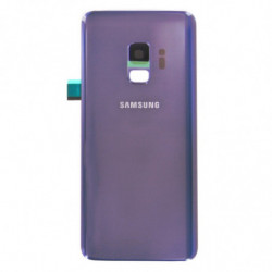 Vitre arriere pour Samsung Galaxy S9 Violet