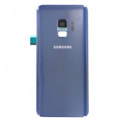 Vitre arriere pour Samsung Galaxy S9 Bleu