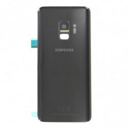 Vitre arriere pour Samsung Galaxy S9 noir