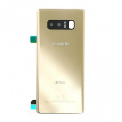 Vitre arriere Samsung Galaxy Note 8 DUOS or