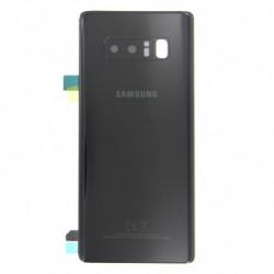Vitre arriere Samsung Galaxy Note 8 noir