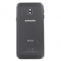 Vitre arriere pour Samsung Galaxy J3 2017 DUOs Noir