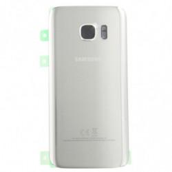 Vitre arriere pour Samsung Galaxy S7 Argent