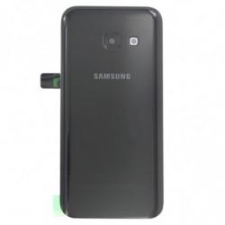Vitre arriere Samsung Galaxy A3 (2017) noir