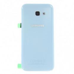 Vitre arriere Samsung Galaxy A5 (2017) bleu