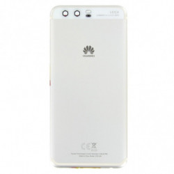 Vitre arriere Huawei P10 blanche