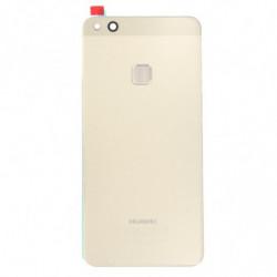 Vitre arriere du Huawei P10 lite avec empreinte digitale or