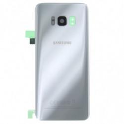Vitre arriere Samsung Galaxy S8 argent