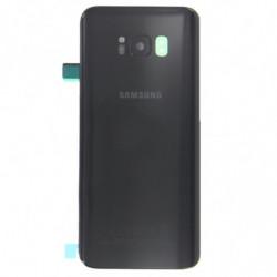 Vitre arriere Samsung Galaxy S8 noir