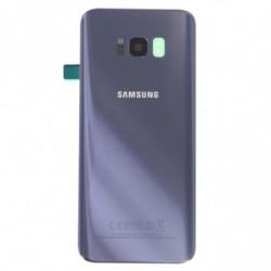 Samsung Galaxy S8 Plus Vitre arriere gris orchidée