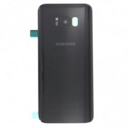 Vitre arriere Samsung Galaxy S8 Plus noir
