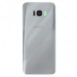 Vitre arriere Samsung Galaxy S8 Plus argent