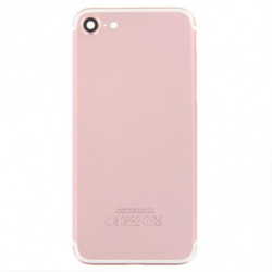 Vitre arriere iPhone 7 en or rose