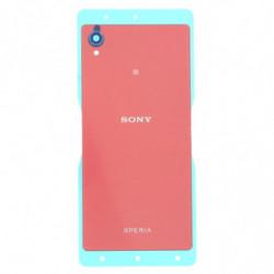 Vitre arriere pour Sony Xperia M4 Aqua E2303 Corail