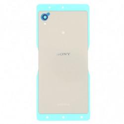 Vitre arriere pour Sony Xperia M4 Aqua E2303 Argent