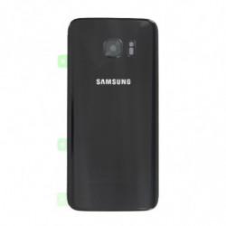 Vitre arriere Samsung Galaxy S7 Edge noir