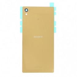 Vitre arriere pour Sony Xperia Z5 Premium E6883 Or