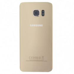 Vitre arriere Samsung Galaxy S7 Edge Or