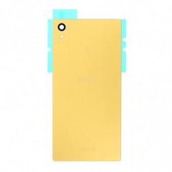 Vitre arriere pour Sony E6653 Xperia Z5 Or